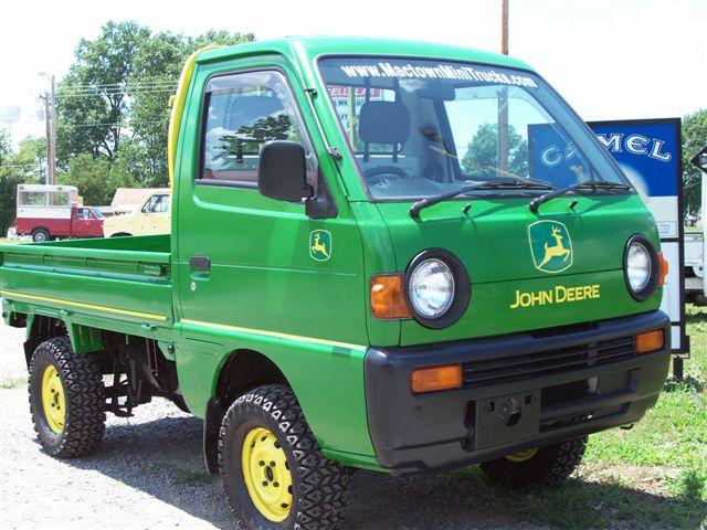 John Deere For Sale >> MacTown Mini Trucks Japanese Mini Truck 4x4 Kei Truck 4wd ATV Off Road Daihatsu Hijet Honda ...